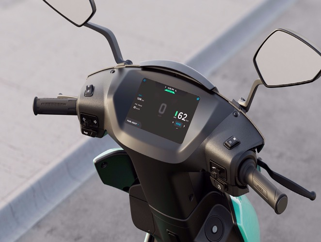 ATHER 450X DASHBOARD