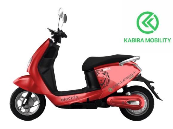 Kabira Kollegio + electric scooter from Goa