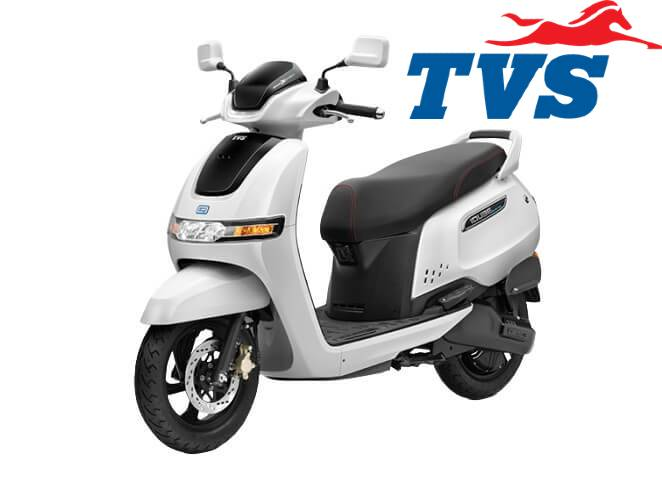 TVS iQube electric scooter in India