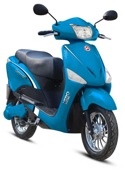 hero electric optima- e-scooter that do not require a license and registration in India
