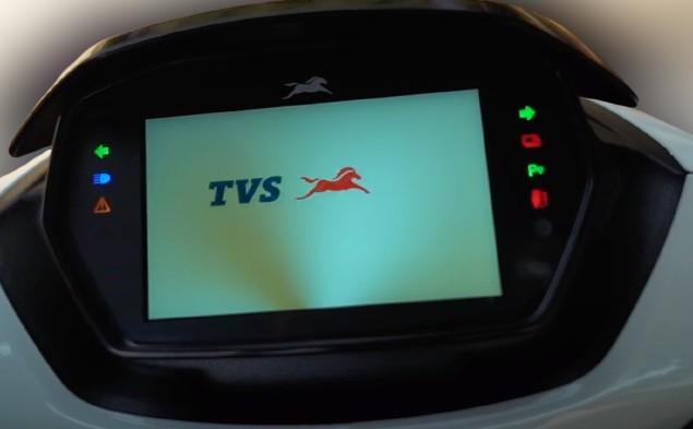 TVS iQube Dashboard
