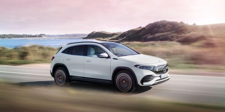 Mercedes reveals a new all-electric compact SUV- Mercedes EQA