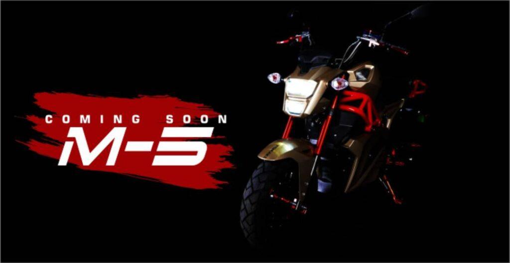 Komaki-M5-Komaki reveals three Electric two-wheelers