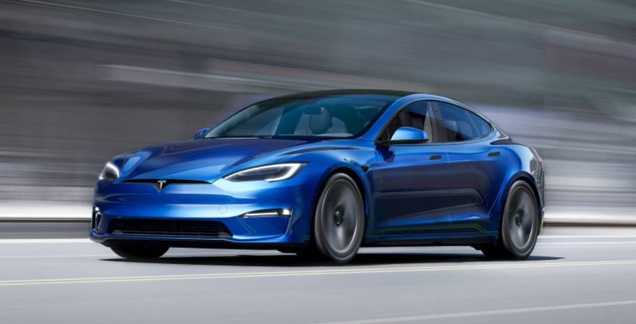 Tesla updates the Model S. New Model S Plaid