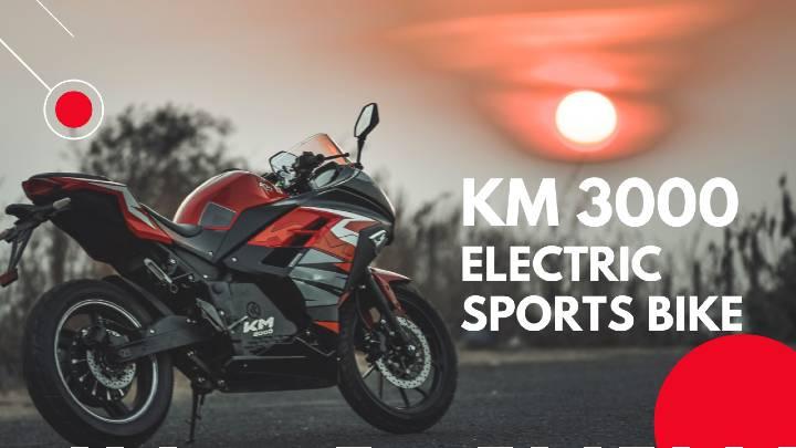 KM3000 electric sports bike