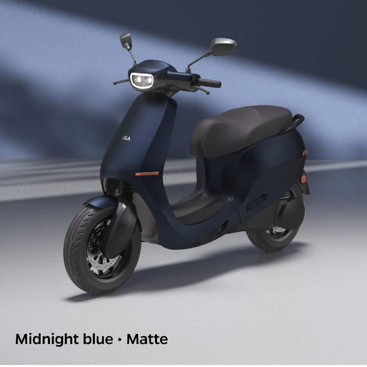 Midnight blue colour