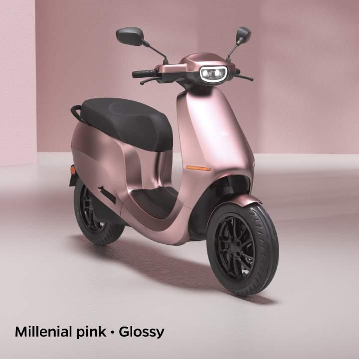 Millenial pink colour