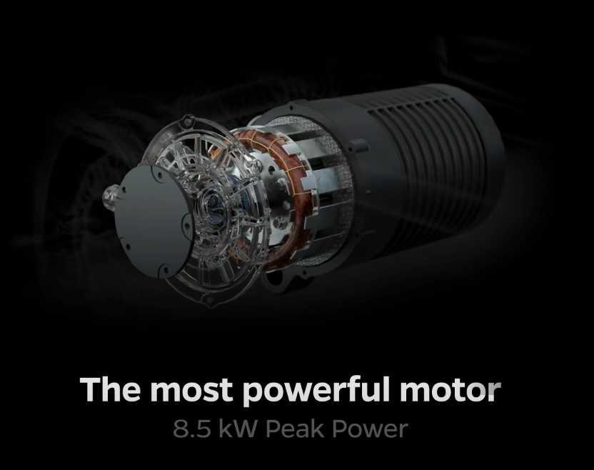 8.5kW peak power motor of the ola s1