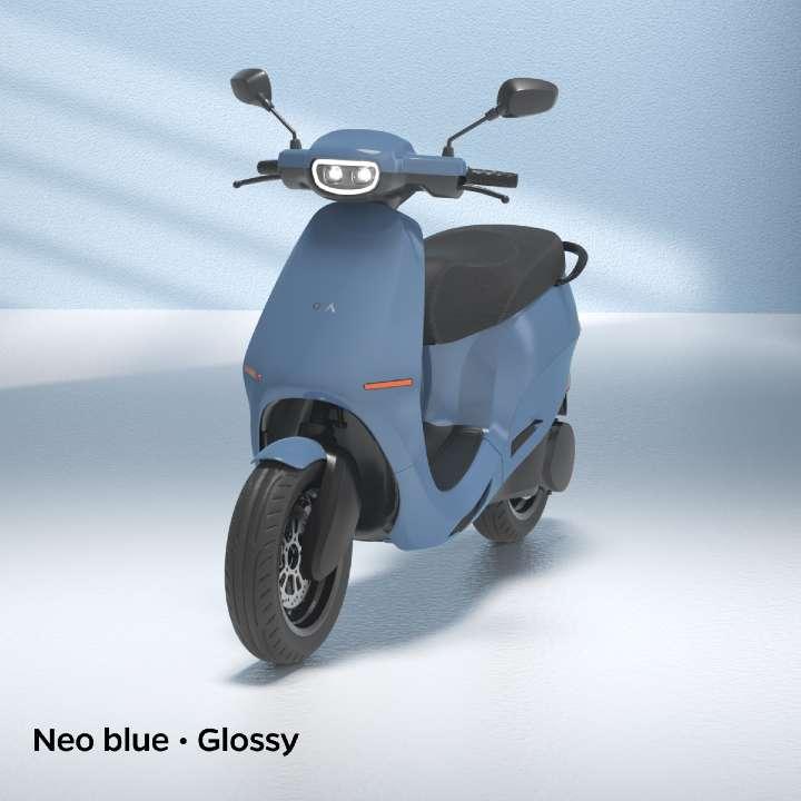 neo blue colour